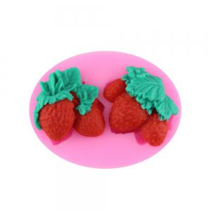 Strawberry Silicone Cake Fondant Mold -