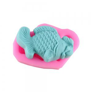 Fish Fondant Pope Biscuit Cake Decorating Mold -