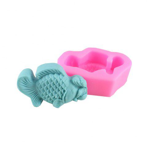 Trendy Fish Fondant Pope Biscuit Cake Decorating Mold