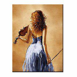 Hand Painted Modern Abstract Figure Art Sexy Girl Canvas Oil Painting Living Room Bedroom Home Wall Decor -