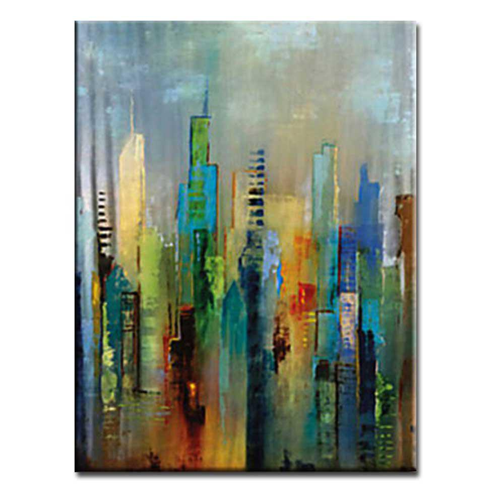 Outfit High Quality Hand Painted Abstract Canvas Oil Painting Abstract Art Home Wall Decoration