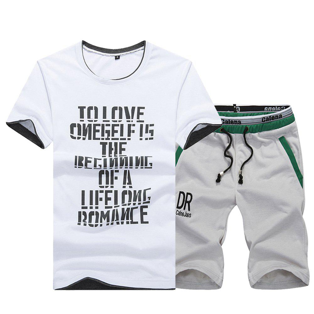 Store Summer Leisure Sports Fashion Suit
