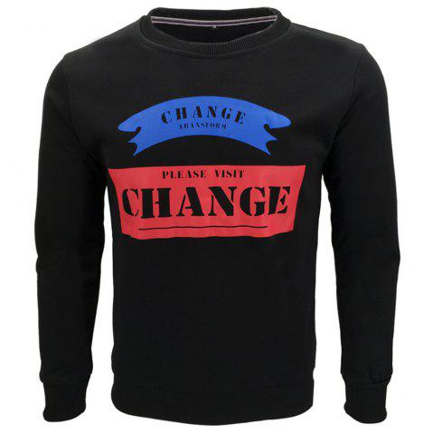 Shops Slim Casual Sweatshirt for Men