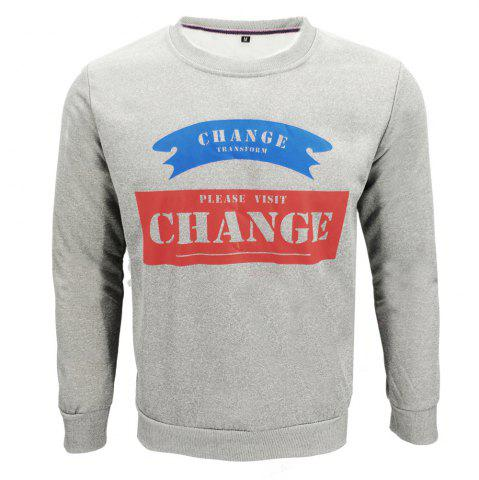 Outfit Slim Casual Sweatshirt for Men