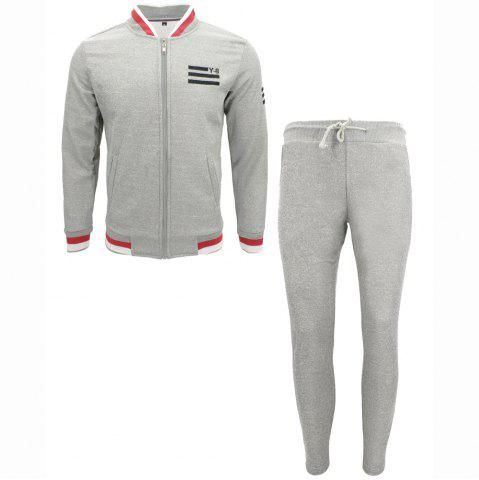 Discount Clothing Autumn Jacket Casual Trousers Sports Suit
