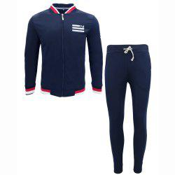 Clothing Autumn Jacket Casual Trousers Sports Suit -