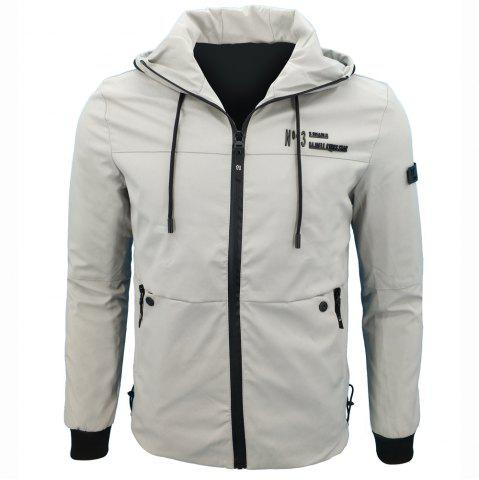 Chic Autumn Leisure Time Hooded Jacket Loose Coat