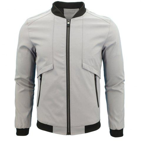 Trendy Spring And Autumn Youth Men'S Sportswear Jacket
