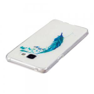 for Samsung Galaxy A310 Lanyumao Pattern Painted High Penetration TPU Material IMD Process Soft Case Phone Case -