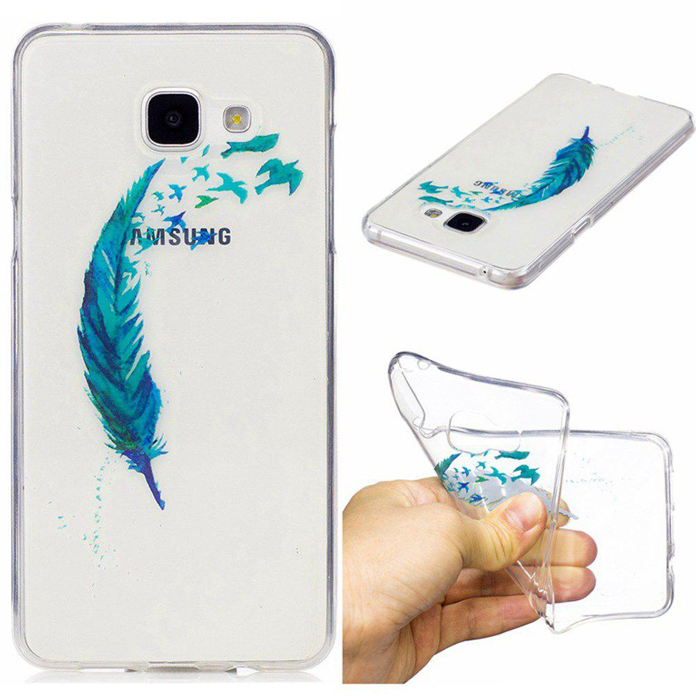 New for Samsung Galaxy A310 Lanyumao Pattern Painted High Penetration TPU Material IMD Process Soft Case Phone Case