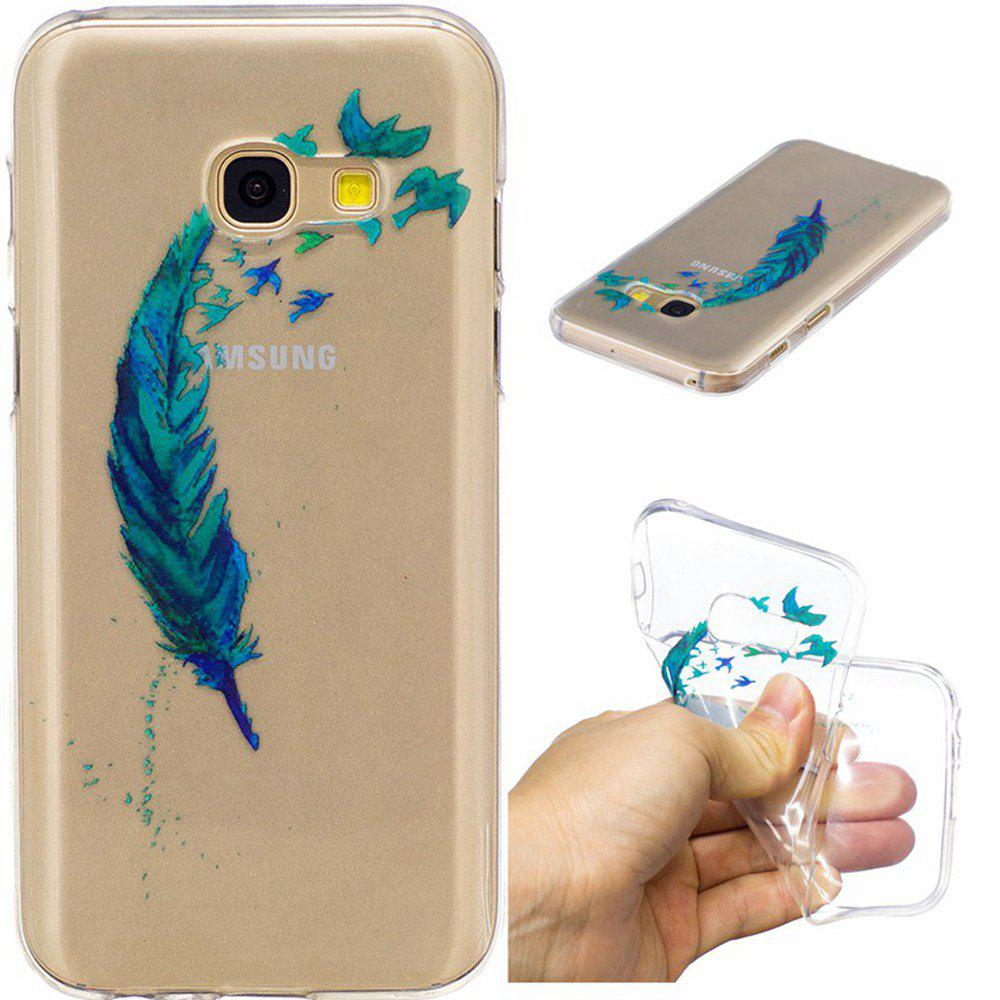 Outfit Lanyumao Pattern Painted High Penetration TPU Material IMD Process Soft Case Phone Case