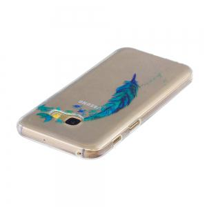 for Samsung Galaxy A520 Lanyumao Pattern Painted High Penetration TPU Material IMD Process Soft Case Phone Case -