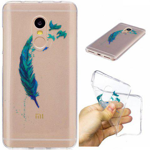 Trendy Beautiful Lace Printing TPU Soft Case for Xiaomi Redmi Note 4