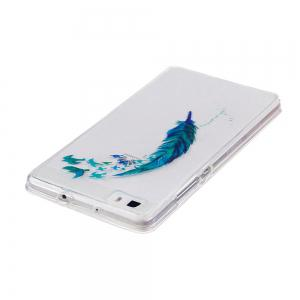 Beautiful Lace Printing TPU Soft Case for Huawei P8 lite -