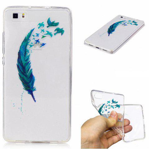Fancy Beautiful Lace Printing TPU Soft Case for Huawei P8 lite