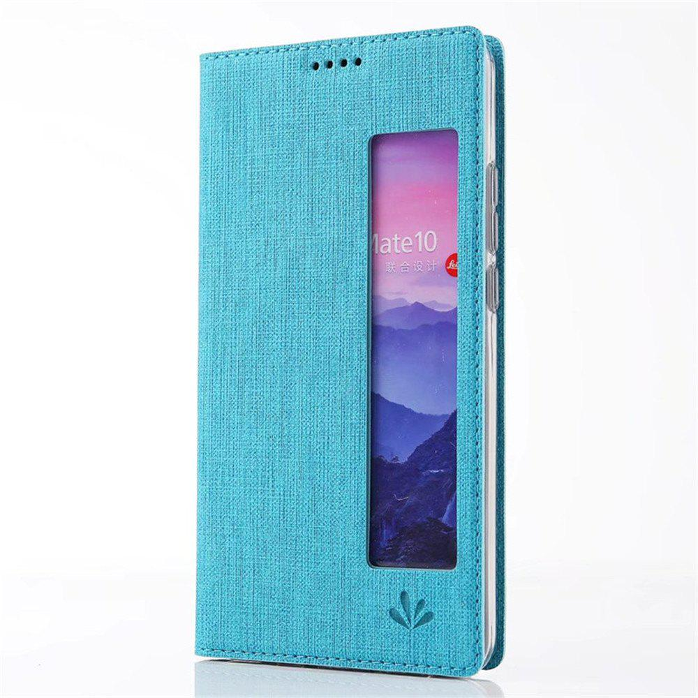 Fancy Dormant Intelligent Wake Protection Shell For HUAWEI Mate 10 Pro Cover