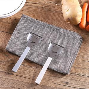 Cute Mini Stainless Steel Fruit Vegetable Potato Peeler Smiling Face Slicer Cutter Kitchen Accessories Tools -