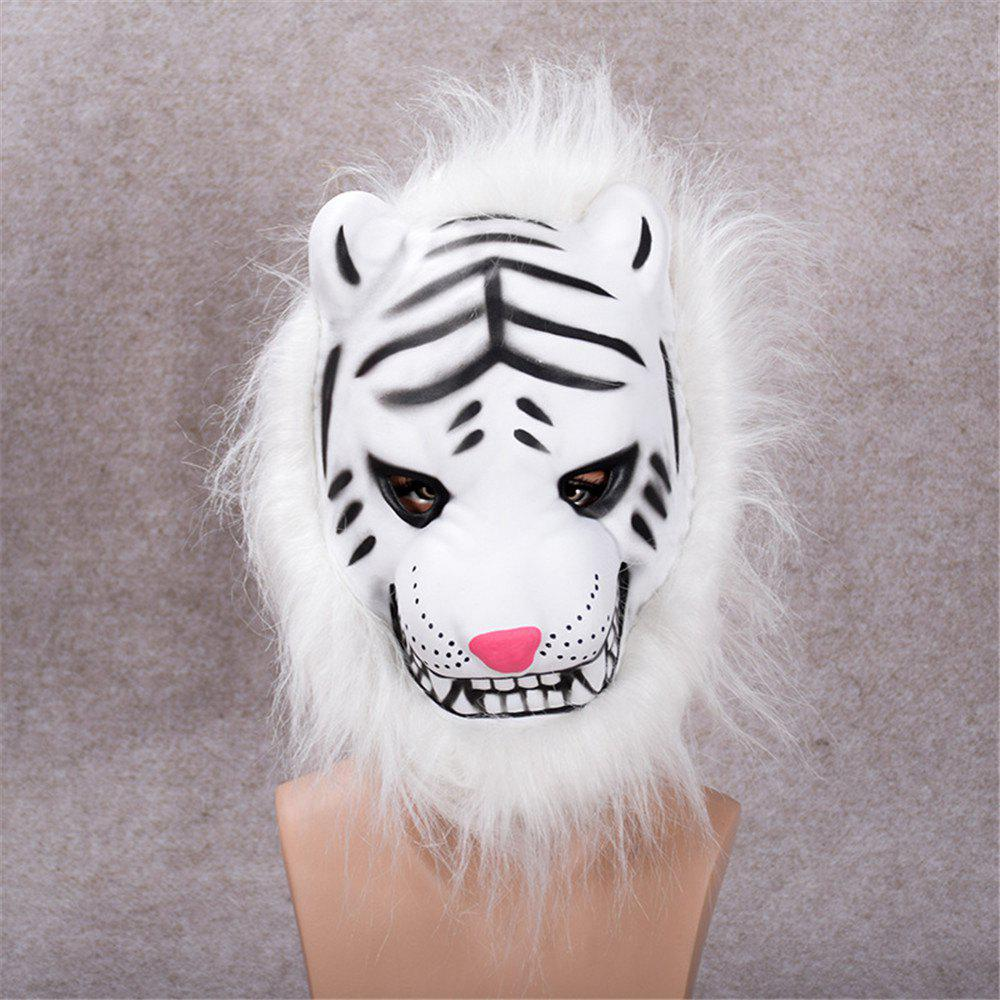 Best Mane Latex Mask Creepy Animal Tiger/Lion/Monkey/ Partern Full Face Halloween Costume