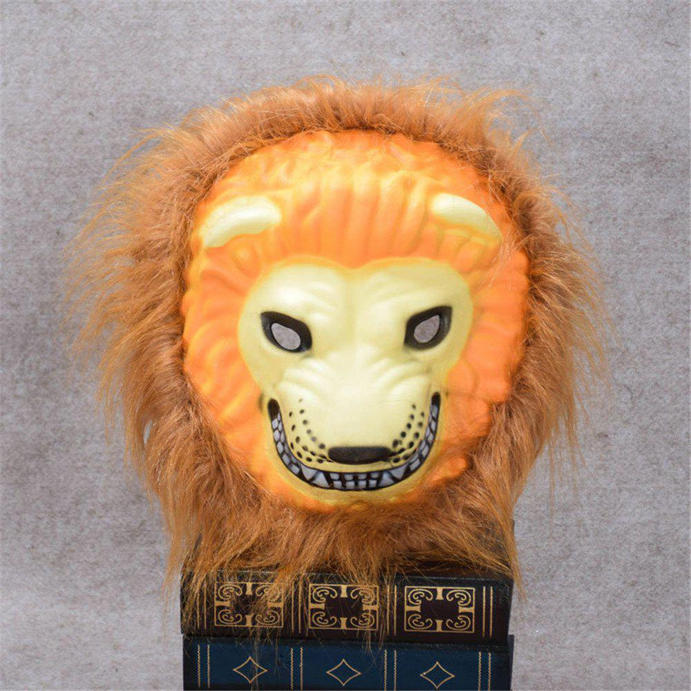 Unique Mane Latex Mask Creepy Animal Tiger/Lion/Monkey/ Partern Full Face Halloween Costume