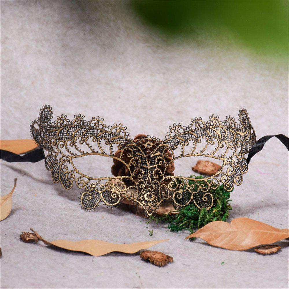 Best Sexy Halloween Colorful Lace Goggles Nightclub Fashion Queen Female Sex Eye Masks for Masquerade Party Ball Mask