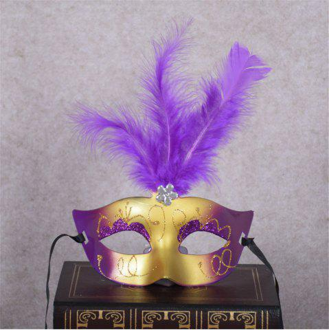 Trendy New Party Masquerade Masks Halloween Christmas Feather Mask Fashion Women Sexy Half Face Masked