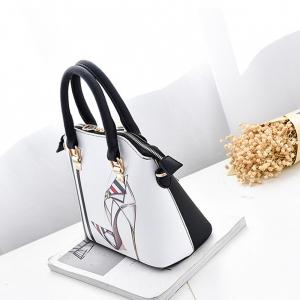 Ladies New Fashion Printed Diagonal Shoulder Bag -