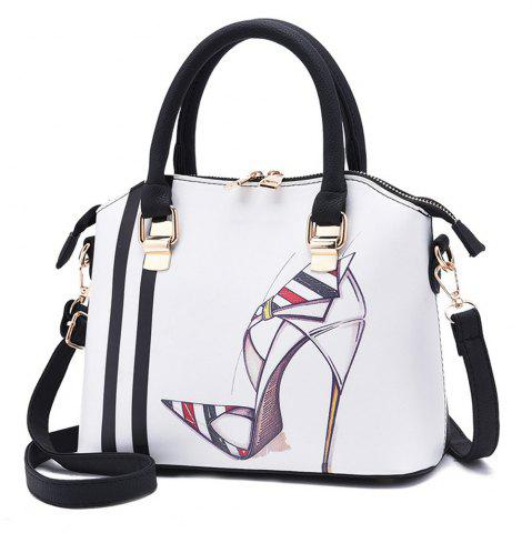 Cheap Ladies New Fashion Printed Diagonal Shoulder Bag