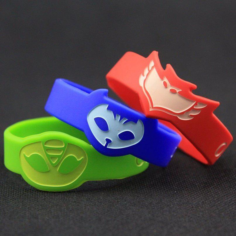Fashion Party Decoration Masks Green Blue Red Resin Birthday Party For Kids Bracelet Wristband