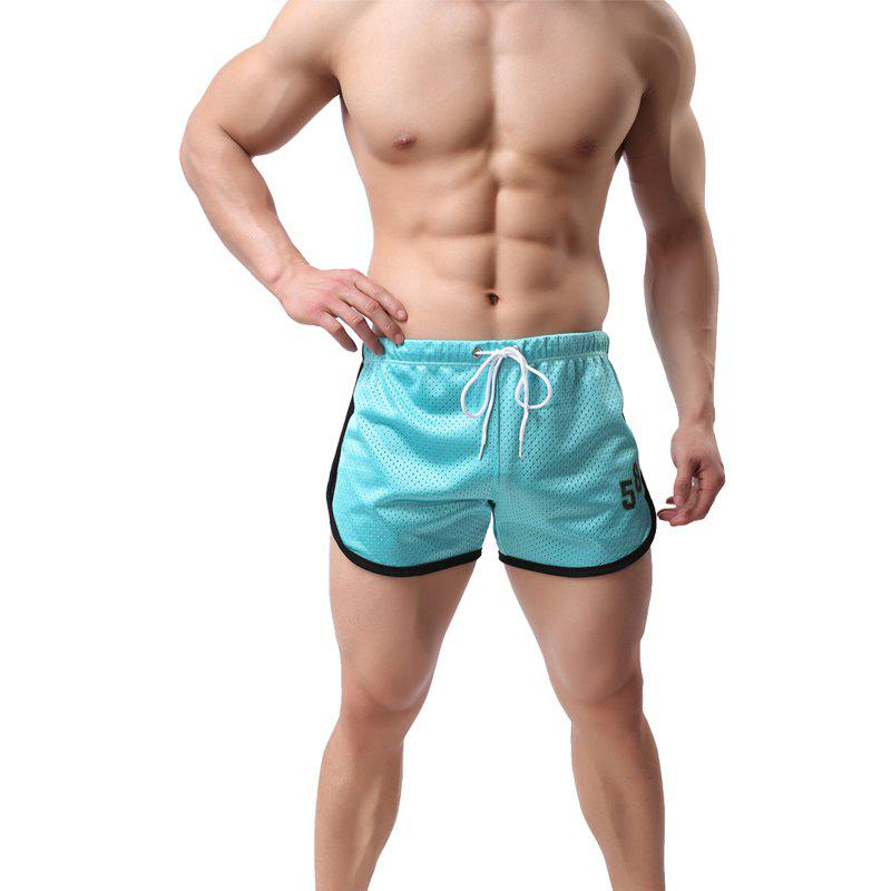 Fashion Men's  Double with Quick-Drying Breathable Men Shorts