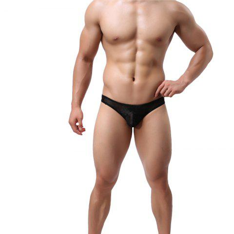Lace Men's Underwear U Convex Sexy Low Waist Breathable Fashion
