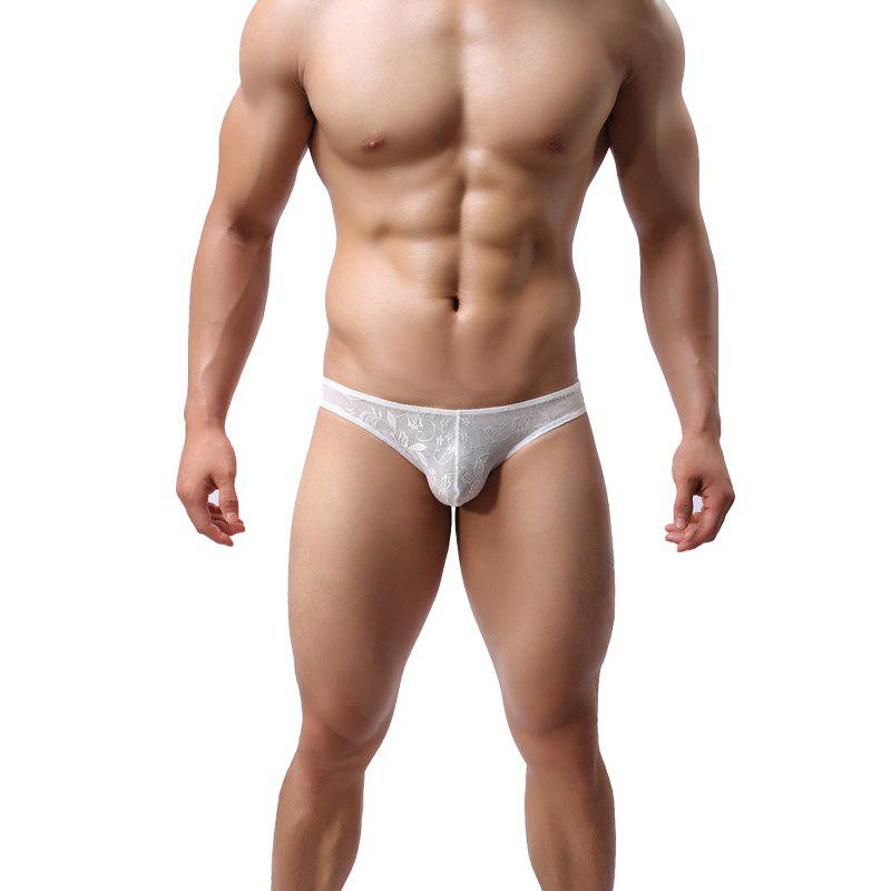 New Lace Men's Underwear U Convex Sexy Low Waist Breathable Fashion
