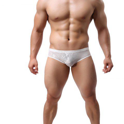 Buy Men Lace Briefs Sexy Low-Waist Panties