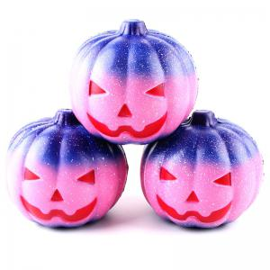 12CM Night Star Pumpkin Soft Slow Rising Toy Made By Enviromental PU Material -