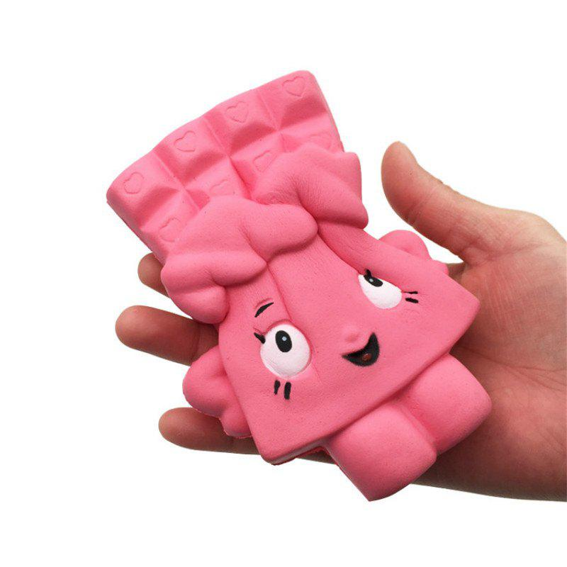 Buy Chocolate Bread Soft Slow Rising Toy Made By Enviromental PU Material