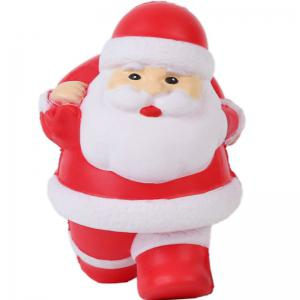 Squishys Slow Rising Stress Relief Soft Toys Santa Claus Style -