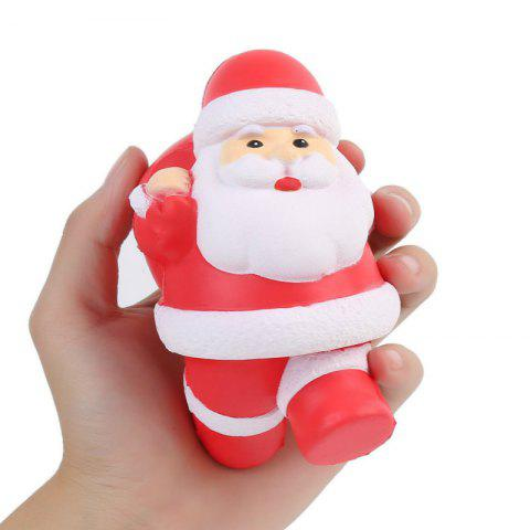 Shops Squishys Slow Rising Stress Relief Soft Toys Santa Claus Style