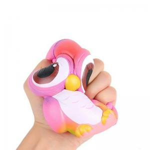 Squishys Slow Rising Stress Relief Soft Toys Replica Owl -