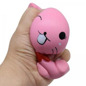 Squishys Slow Rising Stress Relief Soft Toys Replica Mini Cute Cat with Tie -