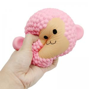 Squishys Slow Rising Stress Relief Soft Toys Replica Monkey Cake -