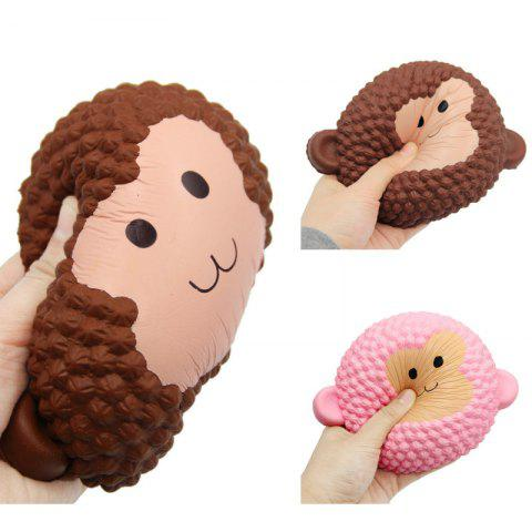 Fashion Squishys Slow Rising Stress Relief Soft Toys Replica Monkey Cake