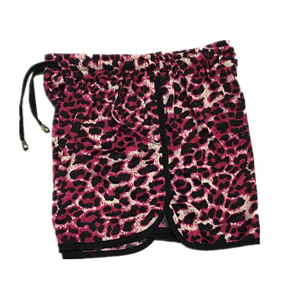 Outfits Popular Beach Leopard Shorts