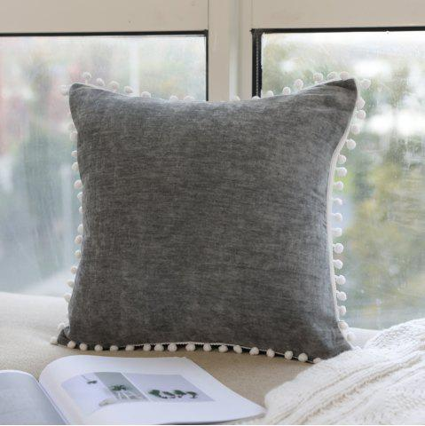 Shops Pillowcase European-Style Solid Color Pillow Cover