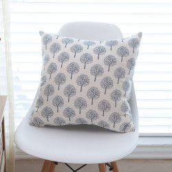 Sofa Cushion Cottonsolid Dandelion Pattern Comfortable Decorative Pillowcase -