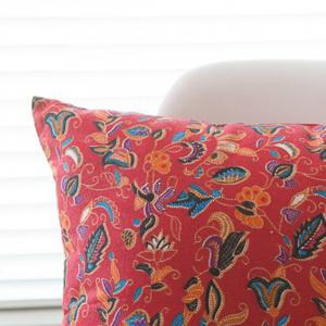 Cushion Cover Pastorable Style Bird Floral Printed Pattern Throw Pillow Cover -