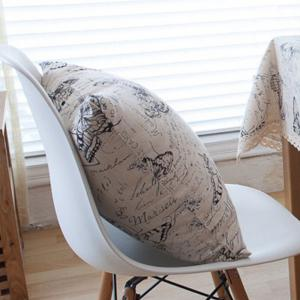 Home Decorative Pillowcase Butterfly Pattern Supple Sofa Cushion Cover -