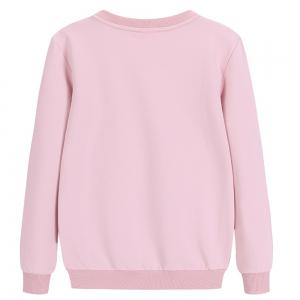 Thin Cotton Long Sleeve Round Collar Sweatshirt -