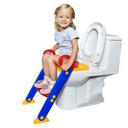 Children Toddler Foldable Kit Toilet Trainer with Ladder -