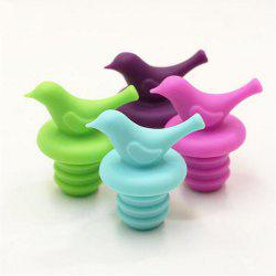 4PCS/LOT Bird Design Silicone Wine Stopper Safety Bar Accessories Sealed Wine Bottle Stopper -