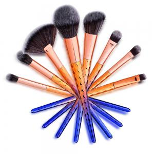 Blue Thread Makeup Brush Beauty Tools 8PCS -