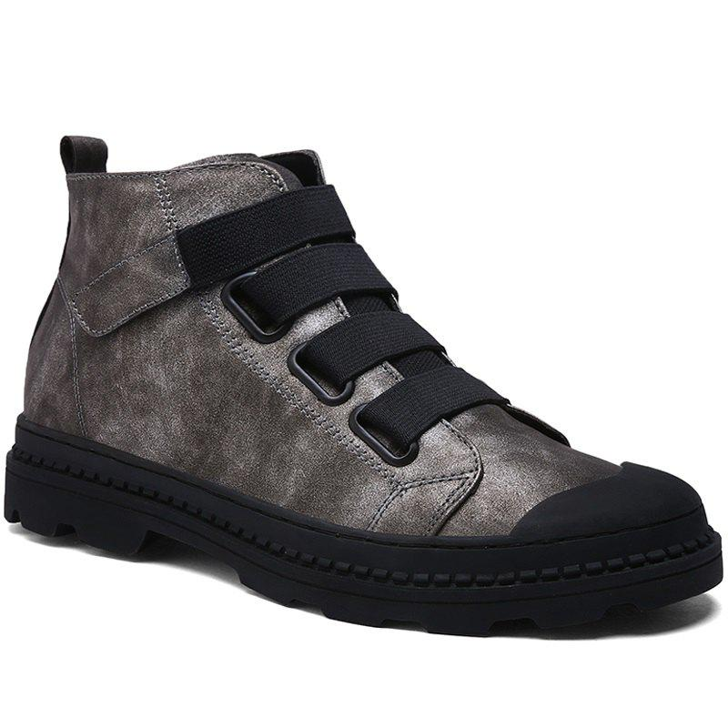 Chic Martin  High Casual Retro Tooling  Trendy Boots